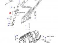 Форсунка двигателя Sisu Diesel — 836854929