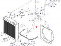 Нижний патрубок радиатора двигателя Sisu Diesel — 35248100