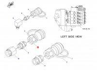 Муфту гидравлическую быстроразъемную трактора Challenger — 5R-6304