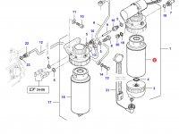 Топливный фильтр(грубой очистки) двигателя Sisu Diesel — 836867591
