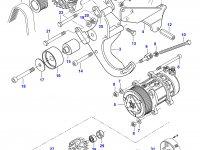 Шкив (ролик) ремня генератора двигателя Sisu Diesel — 836867018