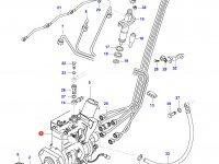 Топливный насос высокого давления (ТНВД) двигателя Sisu Diesel — 836854827