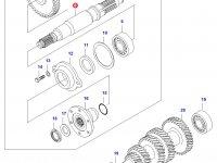 Вал полного привода КПП — 45317600