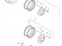 Передний колесный диск - DW16Ax30(GKN, W12212) — 36611400