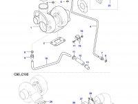 Патрубок турбокомпрессора двигателя Sisu Diesel — 836767167