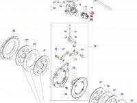 Тормозной цилиндр трактора — 36798910