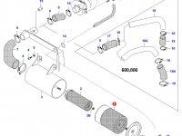 Воздушный фильтр двигателя Sisu Diesel (большой) — 20228310
