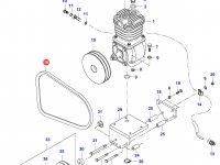 Ремень воздушного компрессора Valtra — 35615000