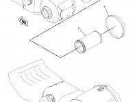 Воздушный фильтр двигателя Caterpillar трактора Challenger — 6I-0273