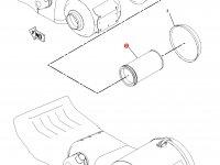 Воздушный фильтр (вставка) двигателя Caterpillar трактора Challenger — 6I-0274