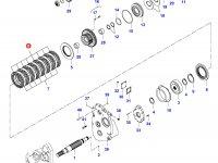 Диск фрикционный муфта 4WD — 35030900