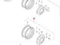 Передний колесный диск - W18Lx28(ADJ 10) — 0761720