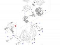 Шкив (ролик) ремня генератора двигателя Sisu Diesel — 836866227