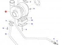 Турбокомпрессор двигателя Sisu Diesel — 836866221