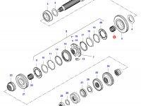 Подшипник конического вала КПП — 35040800