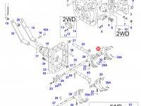 Вилка КПП трактора — 30342010