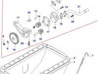 Масляный насос двигателя Sisu Diesel — 836120196