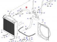 Верхний патрубок радиатора двигателя Sisu Diesel — 35241100