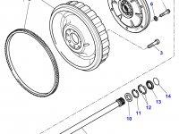 Приводной вал сцепления трактора Massey Ferguson — 701100420043