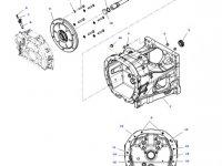 Приводной вал сцепления трактора Massey Ferguson — 701100420060