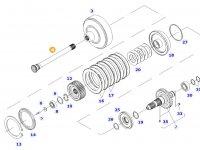 Вал отбора мощности (ВОМ) трактора Massey Ferguson — 701157220010