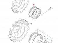Передний колесный диск - DW20Ax30 — 34167000