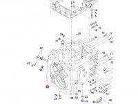 Картер КПП трактор Challenger — 718110051021