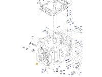 Картер КПП трактора Massey Ferguson(DYNA VT/DYNA STEP) — 725100050021