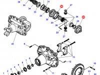 Корпус дифференциала приводного моста трактора Massey Ferguson — 7300470901