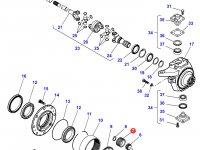 Планетарная (сателлитную) шестерня бортового редуктора переднего моста трактора Massey Ferguson — 7300602402