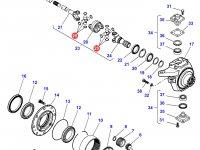 Крестовина приводного(шарнирного) вала бортового редуктора переднего моста тракторов Massey Ferguson — 7300645018