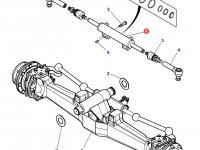 Рулевой цилиндр трактора Massey Ferguson (полный привод) — 7302463401