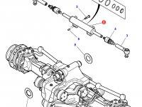 Рулевой цилиндр трактора Massey Ferguson (подвижный мост) — 7302463501