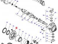 Ступица бортового редуктора переднего моста трактора Challenger — 7330600701