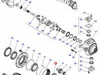 Солнечная шестерня бортового редуктора переднего моста трактора Challenger — 7330603901