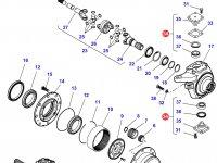 Шкворень моста трактора Challenger — 7330675901