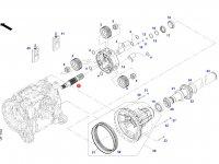 Солнечная вал-шестерня бортового редуктора заднего моста трактора Challenger — 733150150021