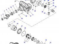 Дифференциал приводного моста в сборе для трактора Challenger — 7350440017