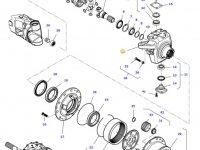Правый поворотный кулак моста трактора Challenger — 7400604301