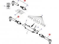 Рулевая тяга трактора Massey Ferguson (полный привод) — 7402462901