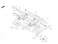 Рычаг навески трактора Massey Ferguson (Dyna-VT) — 743870200011
