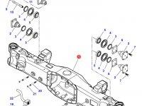 Картер переднего моста трактора Challenger (гидропневматическая подвеска) — 7450170302