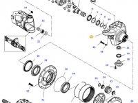 Левый поворотный кулак моста трактора Challenger — 7450601401