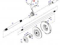 Шланг выжимного подшипника сцепления КПП — 33034100
