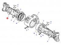 Чулок переднего моста трактора Challenger - Правый (гидропневматическая подвеска) — 7500175706