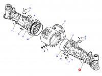 Чулок переднего моста трактора Challenger - Левый (гидропневматическая подвеска) — 7500175806