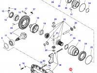 Дифференциал приводного моста в сборе для трактора Challenger — 7500440015
