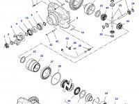 Дифференциал приводного моста в сборе для трактора Challenger — 7500440018