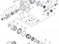 Дифференциал приводного моста в сборе для трактора Challenger — 7500440030