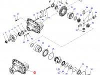Дифференциал приводного моста трактора Massey Ferguson (подвижный мост) — 7500440034
